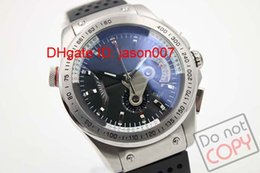 Wholesale High Quality Luxury Mens Sports Quartz Chronograph Watches Best Brands rs Stopwatch Black Face Rubber Belt Original Clasp Watch For Men