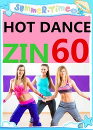 Free Shipping 2016.1 January New South America HOT DANCE ZIN 60 Comprehensive dances ZIN60 Video DVD + Music CD