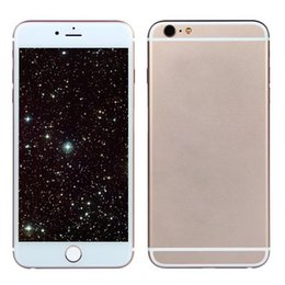 Wholesale Rose Gold Goophone i6s Plus Alloy Aluminum G WCDMA Dual Core MTK6572 GB RAM GB ROM Android Lollipop MP Camera Nano Sim Smartphone