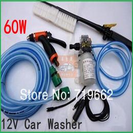 Wholesale Hot Min W DC12V Electric Car Washing Machine Automatic High Pressure Washer Water Gun Portable Washer Pump
