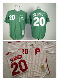 Wholesale Phillies Baseball Jerseys Men SCHMIDT white stripe Camo Green Blue Jerseys stitched Top quality Mix Order Free Fast Shipping