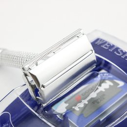 WEISHI Double edge safety shaving razor Aluminum alloy electrified with metal 2003-M New 10 PCS LOT