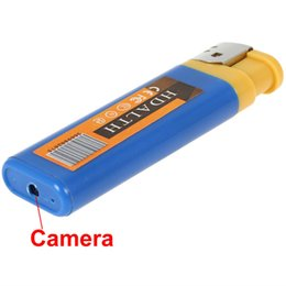 2pcs Mini Lighter Spy Camera Support Recording Videos and Taking photos Cool Portable Lighter with Hidden Camera