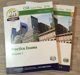 Wholesale 2016 CFA LEVEL Schwes Practice Exam Volume Volume simulation title