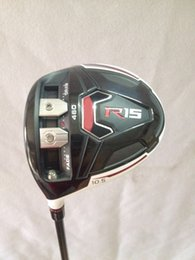 Wholesale Left handed Golf clubs R15 driver loft Regular flex Graphite shaft include headcover PC R15 Golf driver