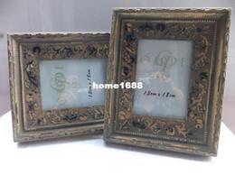 Wholesale Home Decorative Inch quot x7 quot Vintage Antique Fashion Solid Wooden Picture Frames With H D Glass