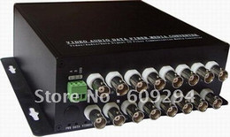 Wholesale-CCTV Video Optical Transceiver-16 Channels video optical digital converter( transmitter receiver),Video Only