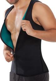 Wholesale 2016 New Hot Mens Neoprene Sport Waist Cincher Vest Shapewear Bustiers Slimming Body Shaper Waist Trainer Corset