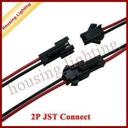 Wholesale 2P JST Crimp Connector with CM Cable Electrical Connector for LED Driver Housing Lighting