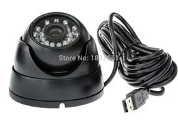 La visión nocturna 0.3MP VGA 640X480 detección de rostros cámara de la bóveda del USB con el software profesional de Vivienda con 5M Cable night vision housing camera promotion desde noche carcasa de la cámara de visión proveedores