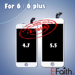 Wholesale Original LCD Display Touch Digitizer Complete Screen with Frame Full Assembly Replacement for Grade A iPhone