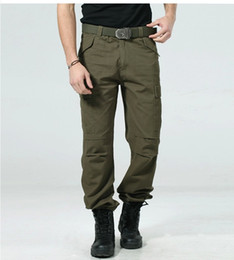 Size 29-38 High Quality Men's Cargo Pants Casual Mens Pant Multi Pockets Military Overalls for Men Outdoors Long Trousers