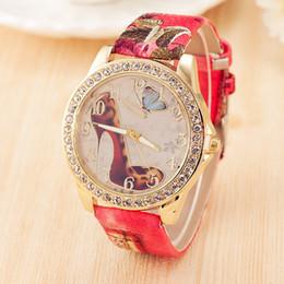 Luxury Nicole Lee High-Heeled Shoes Watches Women Dress Quartz Watch Rhinestone Leather Watch Relogio Feminino Montre Femme