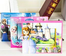 Wholesale Kids Cartoon Photo Frame Toys Frozen Sofia Winnie Snow White Paper Photo Frames Best Birthday Gifts