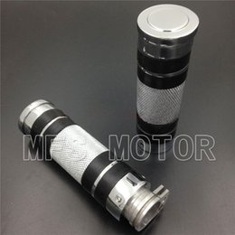 Wholesale Replacement Motorcycle HAND GRIPS Fit for Harle Davidson bikes Chrome Color