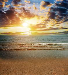 2017 fondos de verano 5 * 7FT Fondos Personalizados Fotografía Backdrops Vacaciones De Verano Playa Fotografía Fondo De Pantalla Delgada De Vinilo Para Fotografía Scenic fondos de verano promoción