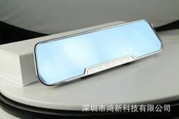 Wholesale Car DVR Rear View Camera Bats Type Screen Rearview Mirror Vehicle Traveling Data Recorder