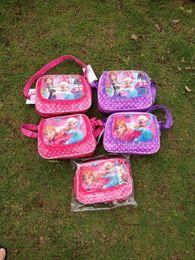 Frozen Satchel Bags Bags Elsa Anna Satchel Bags Fashion Bag Kids Backpack Handbags Children Backpacks Girls Single Shoulder Bags