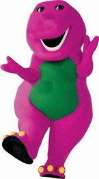Wholesale Custom Product Purple Barney Mascot Character Costume Cartoon Costumes Party Carnival Halloween Outfits