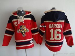 Wholesale 30 Teams Men s Florida Panthers barkov red Hoodies Jersey Ice Hockey Jerseys Best Quality Low Price