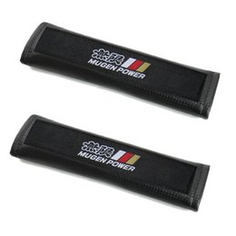 Wholesale Interior Accessories Seat Belts Padding Carbon fiber lines Seat Belt Pads FIT Accord Element INTEGRA S2000 PRELUDE CRV