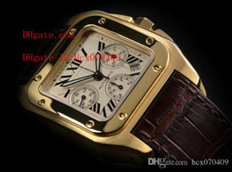 Wholesale Factory Supplier Top Quality AAA Wristwatch Luxury ROSE Gold Chronograph XL Automatic Mens Watch Men s Watches