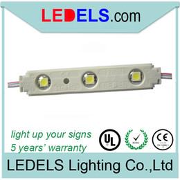 SMD 5050 led weatherproof module lamp for sign back lighting 12v 0.72w UL listed E468389
