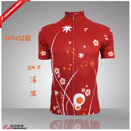 Wholesale-2015 summer new women's cycling wear short sleeved tight sweat breathable cycling wear half sleeve