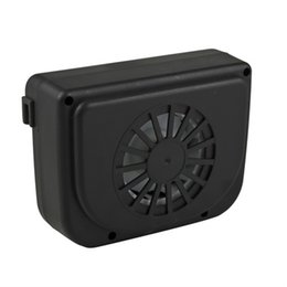 Wholesale Solar Power Auto Car Window Fan Auto Ventilator Cooler Air Vehicle Radiator vent hot selling
