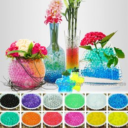 Wholesale 2016 New Crystal Soil Water Pearls Gel Jelly Balls Beads For Wedding Decoration Water Pearls Jelly Ball Centerpieces