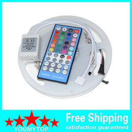 2015 Newest hot sales SMD 5050 led strips rgbw 12VDC & IR 40keys rgbw remote controller for Festival ,exhibition, hall ,Hotels decoration
