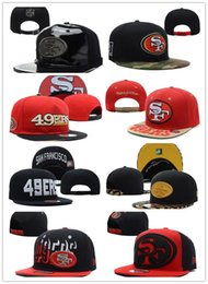 Wholesale SF ers Hat NO Money NO Quality On Field ers Snapback Hats Gear Sideline Adjustable Fitted Caps