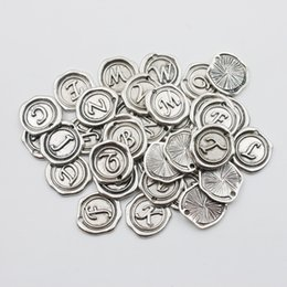 Wholesale Vintage Alloy Alphabet Charms each alphabet AAC177