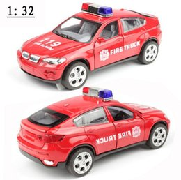 Wholesale Cool Toy Police Cars - Free shipping!1 :32 alloy pull back Sound and light Police car toy model,super cool Police car model,Children's educational toys