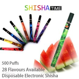 Wholesale Disposable Electronic Cigarette E Shisha Pen Health Fruit flavor hookah vapor colors DHL