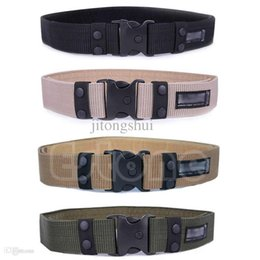 Wholesale Adjustable Survival Men Heavy Duty Combat Waistband Army Military Tactical Belts