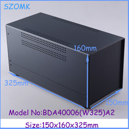 szomk electrical iron box steel enclosure 2015 new (1pcs) 150x160x325mm electrical project box iron box junction box, Instrument control box