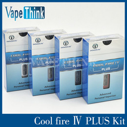 Wholesale MOQ Epacket innokin limited box mod cool fire4 plus special design items advanced device groundbreaking cool fire IV plus isub Apex