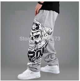 Wholesale-New Arrival Man hiphop trousers loose hip-hop pants trousers skateboard sports health pants