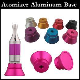 Wholesale Clearomizer Display Base Atomizer Stand Aluminum Holder for Thread Clearomizers yocan F exgo w3 aerotank mega mutation rda RBA tank