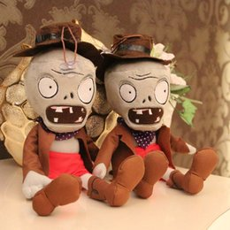 Plants vs Zombies 2 Series Plush Toy PVZ Stuffed Cowboy Zombie 30cm 12inch Tall