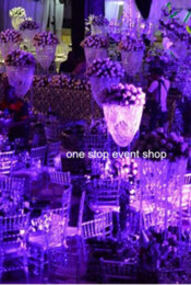 New product crystal flower stand wedding centerpiece and home