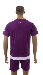 Wholesale Orlando City Home Soccer jersey Top Quality Kits Customized Soccer Jersey with Shorts Size S XL