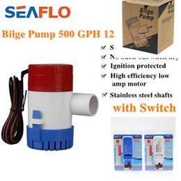 Wholesale Hot Sale V GPH Submersible Marine Boat Bilge Water Pump with SEAFLO Auto Float Switch Kit