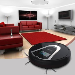 Wholesale Eworld Mop Robot Vacuum Cleaner for Home iLife M884 Black lid HEPA Filter Sensor Remote control Self Charge ROBOT ASPIRADOR