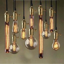 Wholesale A19 edison bulb Price Vintage Edison Bulbs E26 E27 Incandiscent Light Bulbs For Decoration Of Living Room Bedroom Study ST64