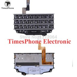 Wholesale Original New Back And White Color Keypad For Blackberry Q10 with Flex Cable Housing Replacement