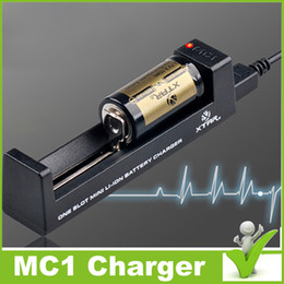 Wholesale XSTAR MC1 CHARGER SINGLE SLOT CHARGER Micro USB charging interface Temperature Monitoring System TC CC CV algorithm fit battery shippi