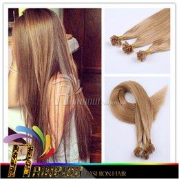 18--26 pouces Cheveux brésiliens Kératine humaine Pointe à ongles Extensions de cheveux enchevêtrement gratuit Extensions de cheveux pré-collées droites AAAA Grade à partir de 18 pouces liaison droite fournisseurs