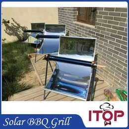 Wholesale New Arrival Solar Oven BBQ Grill Green Portable Barbecue Stove Environmentally friendly Outdoor Tool Roast Kebab Making